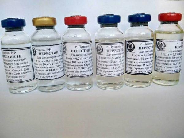 препараты серии нерестин